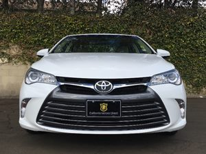 2015 Toyota Camry LE Carfax 1-Owner - No AccidentsDamage Reported  Super White  We are not re