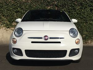 2015 FIAT 500 Sport Carfax 1-Owner - No AccidentsDamage Reported  White  We are not responsib