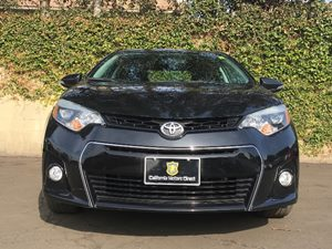 2014 Toyota Corolla S Plus Carfax 1-Owner - No AccidentsDamage Reported  Black Sand Mica  We