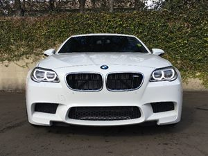 2014 BMW M5 Base Carfax 1-Owner  Alpine White  We are not responsible for typographical errors