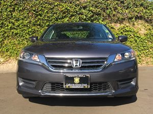 2015 Honda Accord Sedan LX Carfax 1-Owner  Gray  We are not responsible for typographical erro