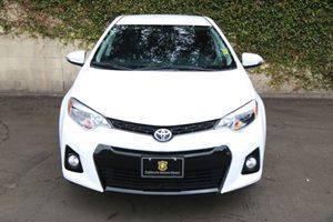 2016 Toyota Corolla S Carfax 1-Owner - No AccidentsDamage Reported  Super White 18996 Per M