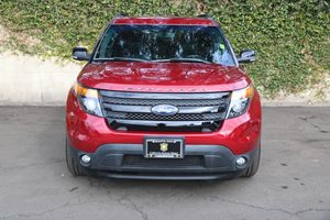 2015 Ford Explorer Sport Carfax 1-Owner - No AccidentsDamage Reported  Ruby Red Metallic Tinte