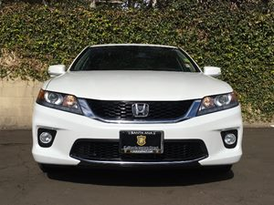 2015 Honda Accord Coupe EX-L  White Orchid Pearl  All advertised prices exclude government fees