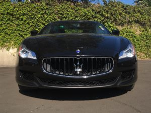 2014 Maserati Quattroporte S Q4 Carfax 1-Owner - No AccidentsDamage Reported  Black  We are n
