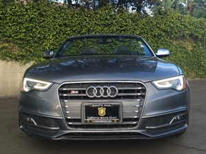 2014 Audi S5 30T quattro Premium Carfax 1-Owner - No AccidentsDamage Reported  Silver  We ar