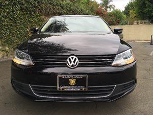 2014 Volkswagen Jetta Sedan SE PZEV Carfax 1-Owner  Black Uni  We are not responsible for typo