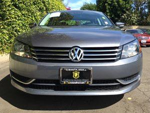 2015 Volkswagen Passat S PZEV Carfax 1-Owner - No AccidentsDamage Reported  Platinum Gray Meta