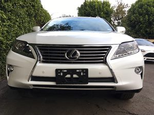 2015 Lexus RX 350 Base Carfax 1-Owner - No AccidentsDamage Reported  White  We are not respon