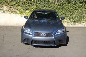 2015 Lexus GS 350 F-Sport Carfax 1-Owner - No AccidentsDamage Reported  Nebula Gray Pearl  We