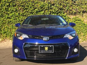 2016 Toyota Corolla S Plus Carfax 1-Owner - No AccidentsDamage Reported  Blue Crush Metallic