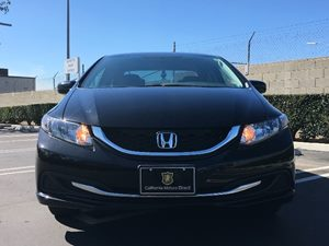2015 Honda Civic Sedan LX Carfax 1-Owner  Crystal Black Pearl  We are not responsible for typo