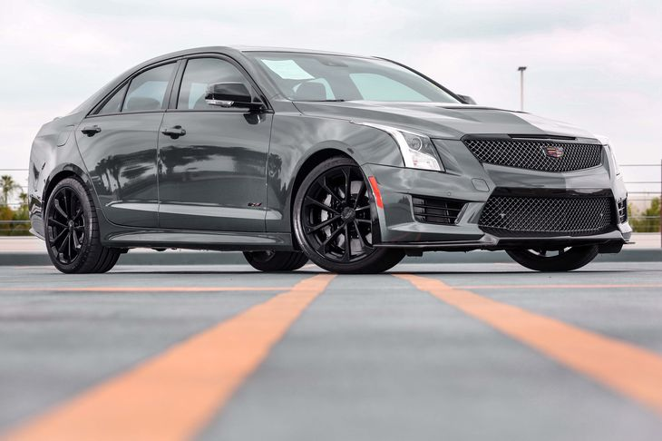 2016 Cadillac ATS-V Sedan   Black Raven All advertised prices exclude government fees and taxes