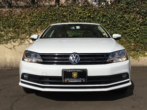 2015 Volkswagen Jetta Sedan TDI SEL Carfax 1-Owner - No AccidentsDamage Reported  Pure White