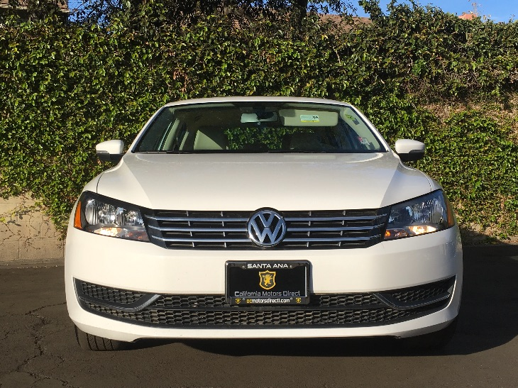 2015 Volkswagen Passat TDI SE  Candy White All advertised prices exclude government fees and ta