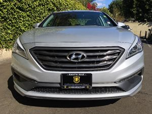 2015 Hyundai Sonata Sport Carfax 1-Owner - No AccidentsDamage Reported  Symphony Silver  We a