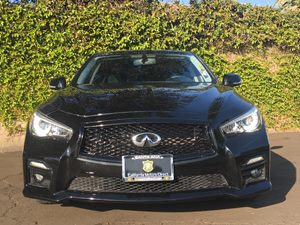 2014 INFINITI Q50 Sport Carfax 1-Owner  Black  We are not responsible for typographical errors