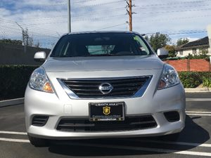 2013 Nissan Versa 16 SV Carfax Report - No AccidentsDamage Reported  Brilliant Silver Metalli