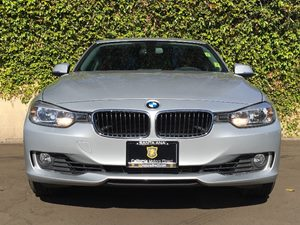 2014 BMW 3 Series 328i Carfax 1-Owner  Silver  We are not responsible for typographical errors