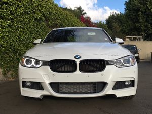2015 BMW 3 Series 335i Carfax 1-Owner - No AccidentsDamage Reported  White  We are not respon