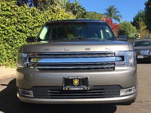 2014 Ford Flex SEL Carfax 1-Owner - No AccidentsDamage Reported  Mineral Gray Metallic  We ar