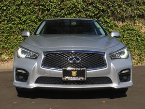2014 INFINITI Q50 Sport Carfax 1-Owner - No AccidentsDamage Reported  Silver  We are not resp
