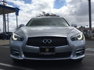 2014 INFINITI Q50 Premium Carfax 1-Owner - No AccidentsDamage Reported  Silver  We are not re