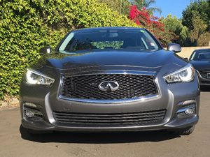 2015 INFINITI Q50 Premium Carfax 1-Owner  Gray  We are not responsible for typographical error