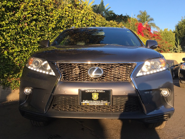 2015 Lexus RX 350 F SPORT  Nebula Gray Pearl All advertised prices exclude government fees and