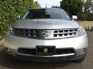 2007 Nissan Murano SL Carfax Report - No AccidentsDamage Reported  Brilliant Silver Metallic