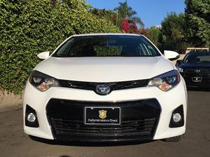 2015 Toyota Corolla S Plus Carfax 1-Owner - No AccidentsDamage Reported  Super White  We are