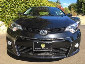 2016 Toyota Corolla S Plus Carfax 1-Owner  Black Sand Pearl  We are not responsible for typogr