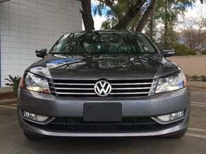 2015 Volkswagen Passat Limited Edition PZEV Carfax 1-Owner - No AccidentsDamage Reported  Plat