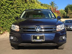 2015 Volkswagen Tiguan R-Line  Night Blue Metallic  All advertised prices exclude government fe