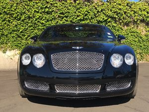 2007 Bentley Continental GT Base Carfax Report - No AccidentsDamage Reported  Black  We are n