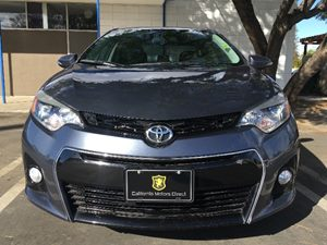 2015 Toyota Corolla S Plus Carfax 1-Owner  Gray  We are not responsible for typographical erro