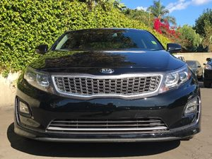 2015 Kia Optima Hybrid EX Carfax 1-Owner - No AccidentsDamage Reported  Aurora Black Pearl  W