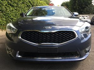 2014 Kia Cadenza Premium Carfax 1-Owner - No AccidentsDamage Reported  Smokey Blue  We are no