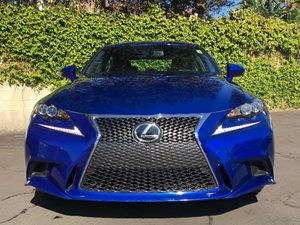 2016 Lexus IS 200t F-Sport Carfax 1-Owner - No AccidentsDamage Reported  Ultrasonic Blue Mica