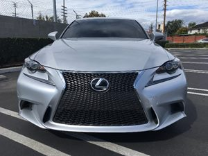 2015 Lexus IS 250 F-Sport Carfax 1-Owner - No AccidentsDamage Reported  Silver  We are not re
