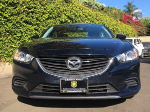 2015 Mazda Mazda6 i Touring Carfax 1-Owner  Blue  We are not responsible for typographical err