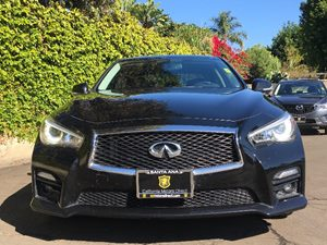 2014 INFINITI Q50 Sport Carfax 1-Owner - No AccidentsDamage Reported  Black  We are not respo