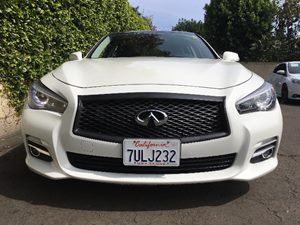 2014 INFINITI Q50 Premium Carfax Report  Moonlight White  We are not responsible for typograph
