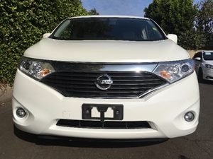 2015 Nissan Quest 35 SV  White Pearl  All advertised prices exclude government fees and taxes