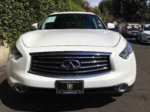 2016 INFINITI QX70 Base  Moonlight White See ourentire inventory at wwwOCMOTORSDIRECT1com or