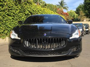 2014 Maserati Quattroporte Sport GT S Carfax 1-Owner - No AccidentsDamage Reported  Black  We