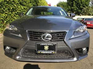 2015 Lexus IS 250 Base Carfax 1-Owner  Nebula Gray Pearl  We are not responsible for typograph