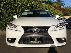 2015 Lexus IS 250  Carfax 1-Owner - No AccidentsDamage Reported  Ultra White  We are not resp