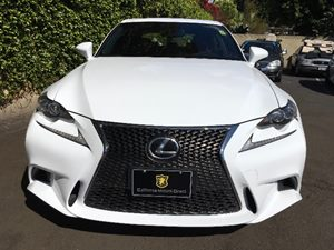 2015 Lexus IS 250 F-Sport Carfax 1-Owner - No AccidentsDamage Reported  Ultra White  We are n