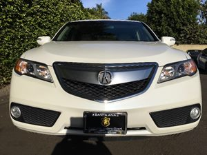 2015 Acura RDX wTech Carfax 1-Owner  White Diamond Pearl  We are not responsible for typograp